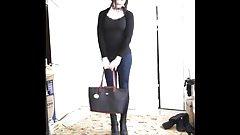 New leggings and bag