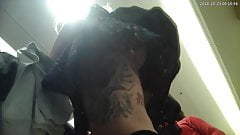 Upskirt tatoo girl