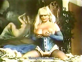 Candy Samples Masturbating Chesty Granny (1970s Vintage)