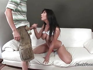 Stunning babe fucked hard