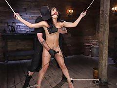 Tiny Gina Valentina Submits to Rope Bondage