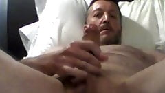 Str8 Daddy Squirts His Load