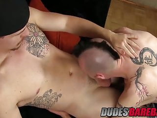 Two sexy hunks Jed and Lucius Cross having great anal sex