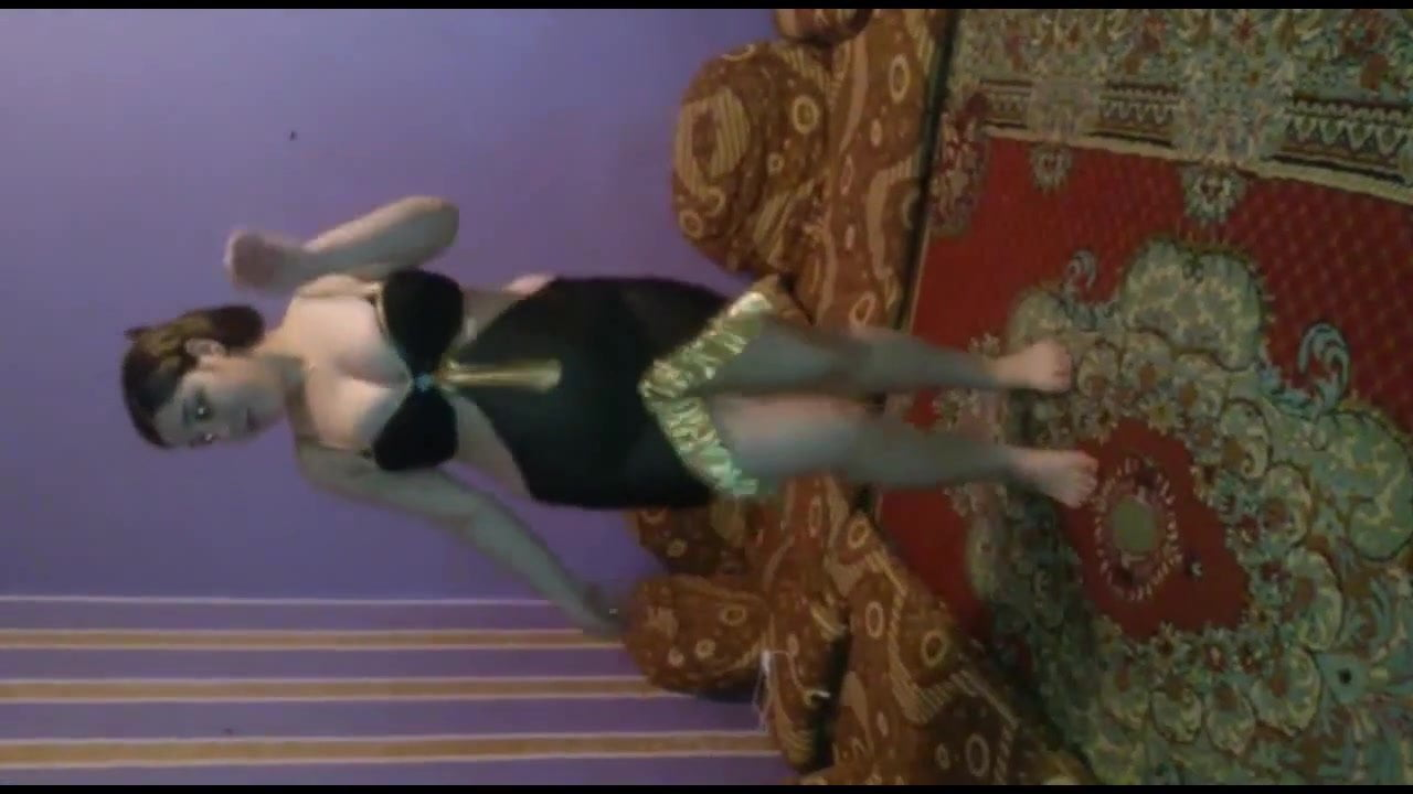 Girl dancing showing your panties