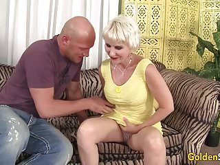 Preview 2 of Old woman Dalny Marga takes young big dick