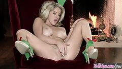 Ainsley Addison starring at Christmas Elf By The Fire