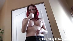 Eat your cum for me two times