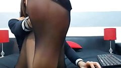 webcam feets