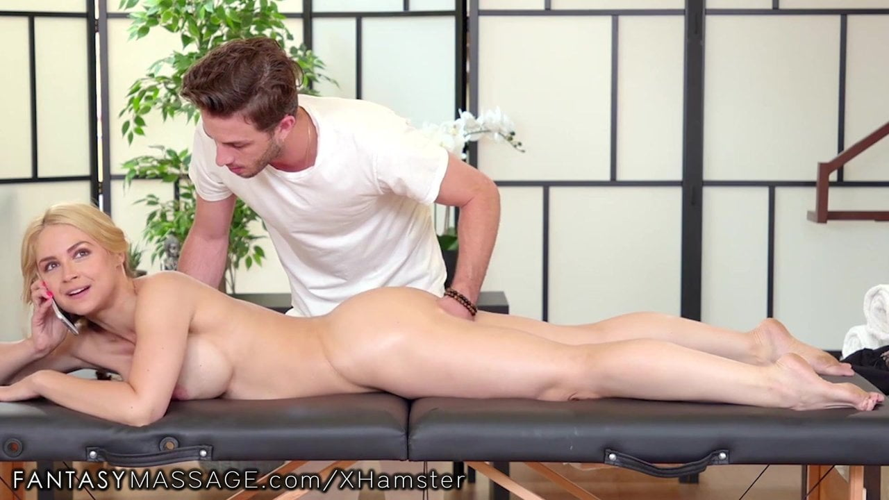 Free download & watch fantasymassage sarah vandella massaged while calling husband          porn movies