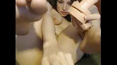 Cute webcam amateur