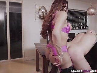 Sucking shemale fucks ass