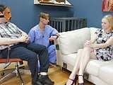Sweet blond candy girl gets brutal ass fucking and spanking