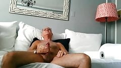 Horny Grandpa Wanking On Web