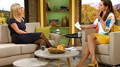 Long legs  and heels in TV show
