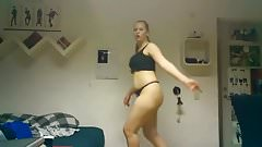 Crazy hot teen dance