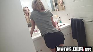 Mofos - Mofos B Sides - Amy Brooke - GF Teases Dudes Dick