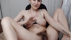 Absolutely stunning hairy fanny