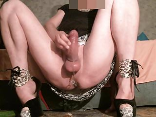 Preview 5 of TRIPLE Cumshot On My Pulsating AssPussy!