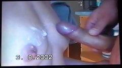 vollgespritzte kleine Tittis