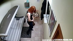Teen Redhead with Perfectly Shaved Tight Pussy