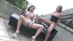 Polina Zaitseva & Marta, babes prefer anal