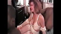 Gangbang Archive Interracial orgy with hot wife in lingerie
