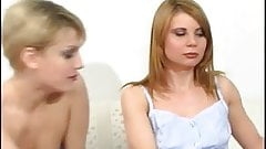 Two Beautiful Lesbians Experiment Together