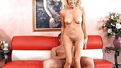 Busty Cougar Fucks Big Young Cock