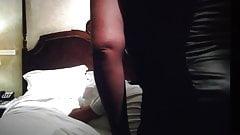 Mother in law fucks me brutal in hotel