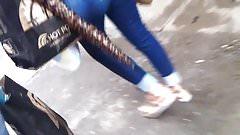 CumSpray Morena de Jeans 2 FEAT TRIPLE CUM