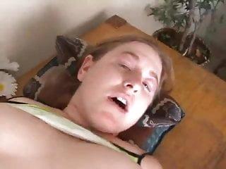 Chubby redhead mateur anal & cream pie