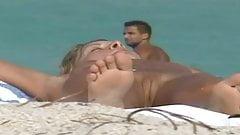 nue a la plage