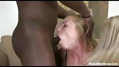 Hot blondes want a group sex-1