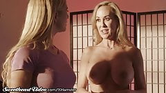 Sweetheart Brandi Love shows Cherie How to Seduce a Woman porn image