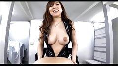 Japanese strapon mistress Erika (censored)