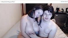 Cute Teen Big Tits topless & nude fucking