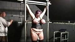 Tied big boobs, tits torture