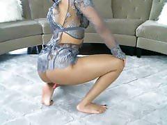 kay ebony bomb ass and feet