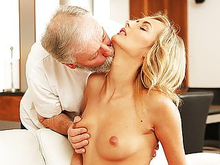 Oldk Mature Guy Penetrates Beautiful Wife In Old And Young