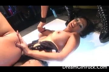 Two Hot Babes Shared In One Big Cock