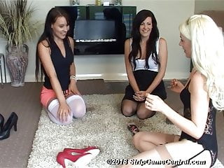 Bex Charlotte Debz Play Strip Spin The Bottle