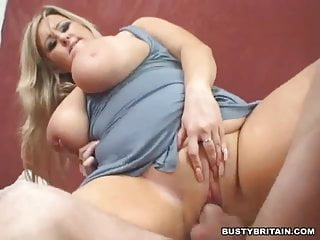 BBW Leah Jayne Cunt & Boobs Fucked
