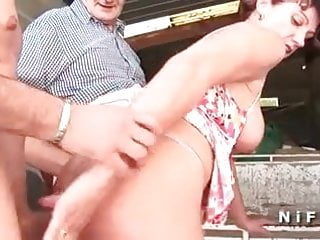 busty french mature anal fucked and gangbanged
