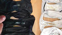 Wife dirty panty wank - Laundry Day