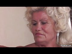 Granny Effie gets pounded hard