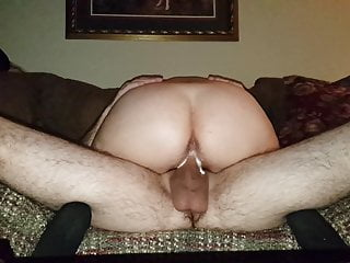PART 2, 57 YR OLD COUGAR RIDES 29 YR OLD CUB ON COUCH!!