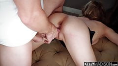 Slim Blonde Addee Kate Fucked Hard and Creampied