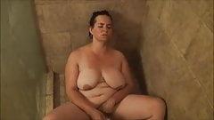 Jennifer shower masturbation