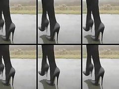 More High Heels Walking's Thumb