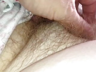 her soft breast, hairy pit, hairy pussy & soft bbw body